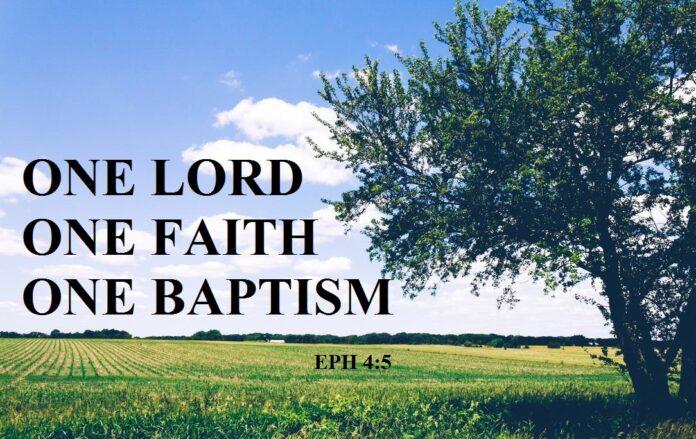 What does One Faith mean in Ephesians 4-5 - Why is faith so important